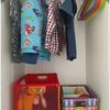 子供服の収納で夫と意見が合わない。コンプロマイズ後の収納を公開します!