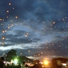 ミャンマー気球祭りが始まりました!