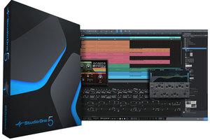 PRESONUS Studio Oneが5.1にアップデート。印刷を含めたスコア機能強化やさかのぼりMIDIレコーディング機能などを追加