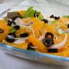 庭仕事とチャイルドリーフのサラダ