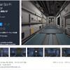 【新作無料アセット】壁のPBRテクスチャがSFっぽくて格好いい!科学施設、研究所風のモジュラー型「通路」のローポリ3Dモデル「Modular Sci-Fi Corridor」