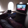 【搭乗記】カタール航空 ビジネスクラス ヘルシンキ-ドーハ QR304