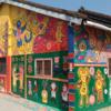 台中のサルベーションマウンテン「彩虹眷村」で台湾異色アートに触れる。