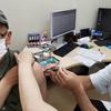 ワクチン接種。