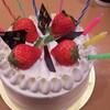2017年2月9日  誕生日ケーキ