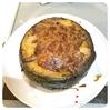 薪ストーブとダッチオーブンで作るカボチャの丸ごとグラタン