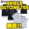 【バスブリゲード】アウトライングラフィックを使用したTシャツ「SHIELD OUTLINE TEE」発売!