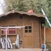 ログハウス屋根補強工事