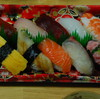 魚屋の握り寿司