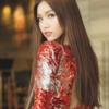 Do Nhat Ha, きれいな赤いドレスで最も美しいトランスジェンダー