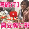 台湾女子旅行記⑥:巨大タピオカミルクティーに挑戦!&人生初の臭豆腐は刺激が強すぎる!!