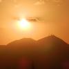 2011/11/15 皿倉山に沈む夕陽