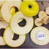 りんごを乾かし 干しりんご