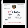 【EペースJog】14km Ave 4'12/km 昨日から平均心拍数が高め