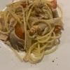 今週のアテパスタ 舞茸、ツナとフレッシュトマト