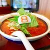 【8月8日 ハチバン ラーメン 】「小さな野菜トマトらーめん 海老餃子セット」8番らーめん 横江店