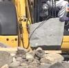熊本城大天守の石垣復旧 加工作業を公開