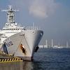 横浜港散歩『巡視船あきつしまと港の風景』