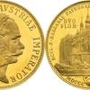 オーストリア 1887年クッテンベルク鉱山再開2グルテン記念ゴールドメダル