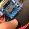 ラインセンサーとモーターの調整