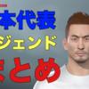 ウイイレ2019|日本代表レジェンドを作ろう!モンタージュでレシピを紹介します!|エディット講座