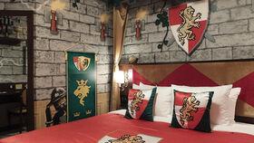 レゴランドホテル「キングダム」がテーマの客室に泊まって王様気分を味わってきました!