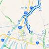 広島の街は川だらけ、ラン。
