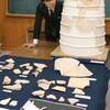 平城京の建造のためにぶっつぶした古墳ちゃん(の破片)見つかる。当時、怨霊化防止はどうしていた?