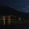 夜のコモ湖畔ドライブ