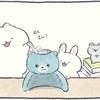 4コマ漫画「かき氷リベンジ」