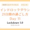 【ロックダウン記録】ロックダウン11日目 ~何もしないぐだぐだ土曜日~
