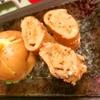 茗荷といか天かすの蕎麦粉卵焼き