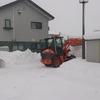 雪すごいですよ