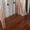床と壁下地の施工状況