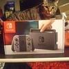 Switch親戚にあげたので新しいSwitch買いました!(我が家の猫を添えて)