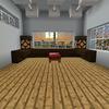 【MinecraftPC版】Part279 寝室の照明をいじってみた・海底神殿周囲の壁をガラスに交換