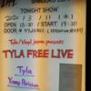 2020/3/11 Young Parisian, Tyla at 新宿LOFT