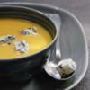 ブルーチーズは素敵な脇役・カボチャのポタージュ