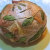カマンベールの豚肉巻オーブン焼き、セージの香り
