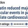 ACPJC:Therapeutics ロスバスタチンは中等度心血管リスク患者の心血管イベントを減らす