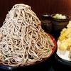 味奈登庵 @白楽 驚愕のコスパ500円で1キロの蕎麦 富士山盛り