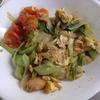 幸運な病のレシピ( 1498 )昼:青梗菜炒め(手羽味噌漬網焼き仕立直し)