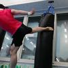 【特訓】ハイキック(上段蹴り)の徹底練習!キック生活3か月目 理想のハイキックとは!?