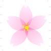 エクセルで桜を描く その1