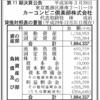 カーコンビニ倶楽部株式会社 第11期決算公告