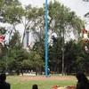 メキシコ伝統の儀式!ワシの様に空中を舞う男達「ボラドーレス」