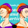 【お礼】100記事目になりました。