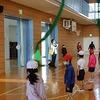 2年生:短なわ大会① 準備運動・練習