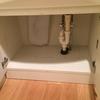 洗面台下の大掃除