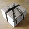 布を使ったシンプルな箱